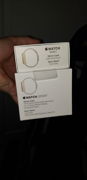 Apple Watch Box only for Sale in Santa Ana, CA