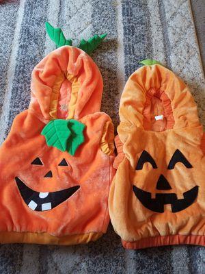 12m-2t pumpkin costumes for Sale in Manassas, VA