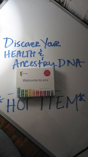 23&Me HEALTH AND ANCESTRY DNA TESTING for Sale in Mount Holly, NC