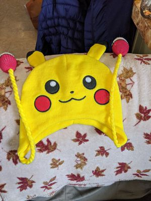 Official Pokemon Pikachu Yellow knit beanie hat for Sale in Neenah, WI