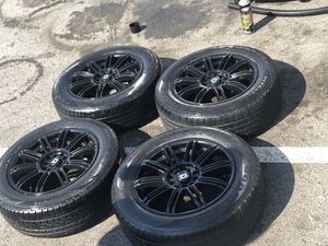 """Black rims w/ 4 new tires. 16"""" for Sale in Columbus, OH"""