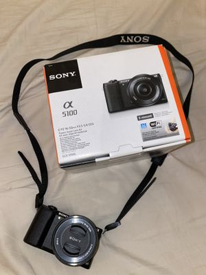 *NEW* Sony a5100 16-50mm Interchangeable Lens Camera with 3-Inch Flip Up LCD (Black) $380 OR BEST OFFER (Retail price is $482 on Amazon) for Sale in Chicago, IL