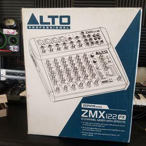 Alto Professional 8 Channel Mixer Board for Sale in Chico, CA