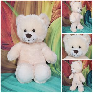 "16"" Build A Bear Classic Cream Colored Teddy Plush Stuffed BABW Soft EUC for Sale in Dale, TX"