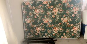 Mattress box spring and metal bed frame for Sale in Hayfield, MN