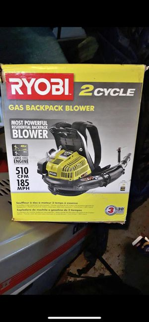 Ryobi gas backpack blower NEW for Sale in Chicago, IL
