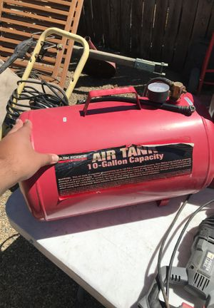 Portable fill up air tank for Sale in Ivanhoe, CA