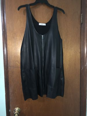 ZARA Leather zip dress for Sale in Washington, DC