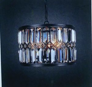 Iris round chandelier medium light fixture for Sale in Kent, WA