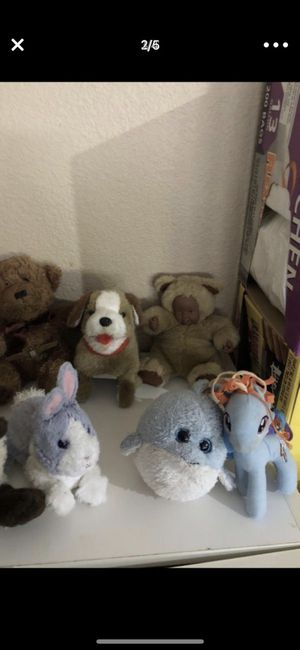10 stuffed characters for kids for Sale in Poway, CA