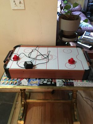 Mini air hockey table. Works for Sale in Seattle, WA