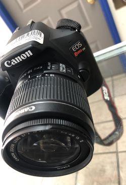 canon eos rebel t6 camera for Sale in Denver,  CO