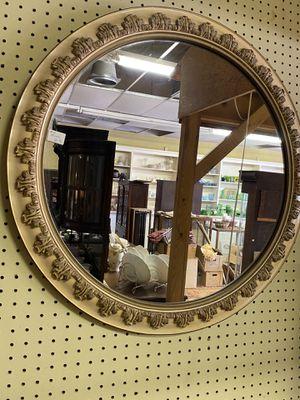 "Antique/Vintage Round Mirror 29"" for Sale in Claude, TX"