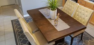 Real Oak wood Dining Table for Sale for sale  South Hackensack, NJ