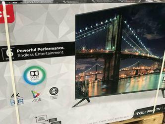 "55"" TCL 4K Roku Smart TV for Sale in Long Beach,  CA"