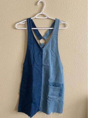 Denim Overalls Dress for Sale in Anchorage, AK