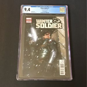 HTF Winter Soldier #1 CGC 9 .4 for Sale in Corona, CA