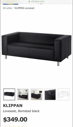 Ikea klippan sofa/love seat for Sale in Irvine, CA
