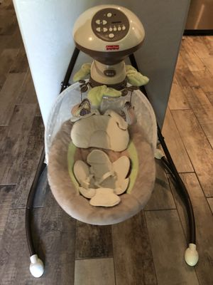 Fisher price swing EUC hardly used for Sale in Avondale, AZ