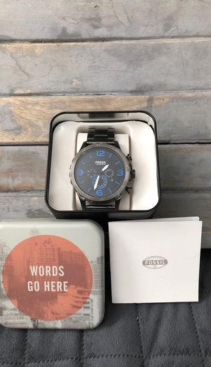 Fossil Nate Chronograph JR1478 50mm for Sale in Los Angeles, CA