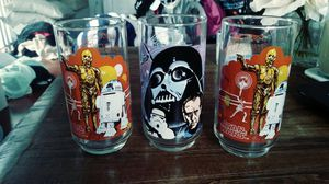 Star Wars 1977 Glass Cups for Sale in San Diego, CA