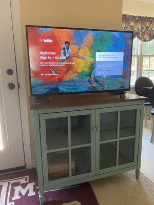 Like new TV 43'' + TV stand - $350 for Sale in Midlothian, VA