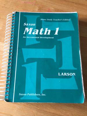 Saxon math 1 for Sale in Shoreline, WA