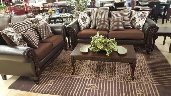 New Formal Sofa and loveseat set