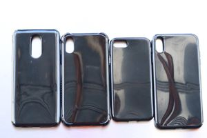 Black Silicone Case for IPhone 7,8, 6 Plus, 7 Plus, 8Plus, XS, XR, XMax, Stylo 4 for Sale in San Bernardino, CA