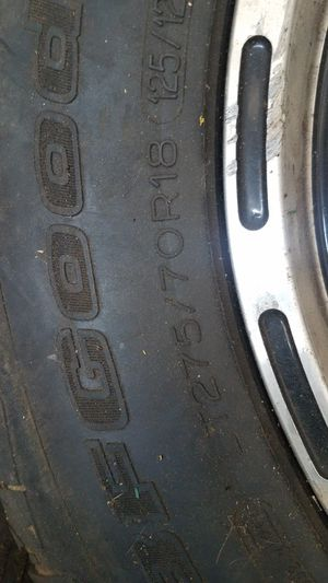 Rims and tires for Sale in Dundalk, MD