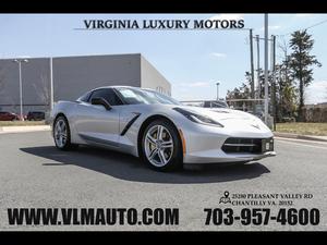 2016 Chevrolet Corvette for Sale in Chantilly, VA
