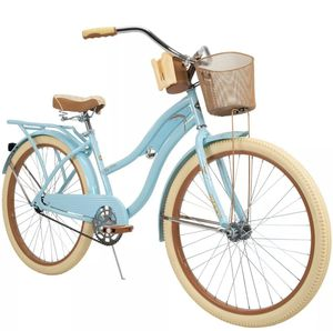 """New Huffy 26"""" Inch Women's Nel Lusso Cruiser Bike with Perfect Fit Frame Blue for Sale in Las Vegas, NV"""