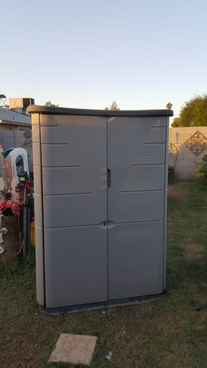 Tall Rubbermaid tall storage shed for Sale in Phoenix, AZ