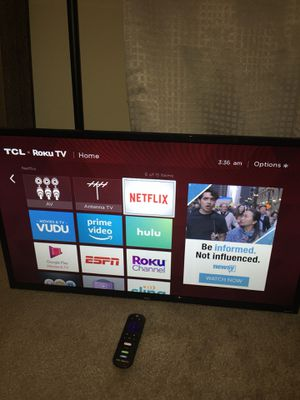 TLC SMART TV PICKUP TODAY for Sale in Lithonia, GA