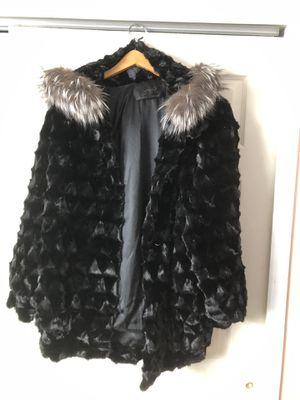 Fur coat 3/4 length for Sale in Cheyenne, WY