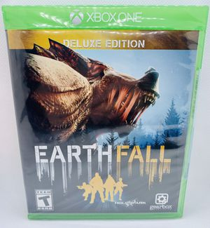 EARTHFALL - Deluxe Edition Microsoft XBOX ONE Brand New Factory Sealed co-op multiplayer Live for Sale in Puyallup, WA