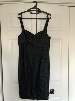 Sheer cocktail black dress for Sale in Naperville, IL