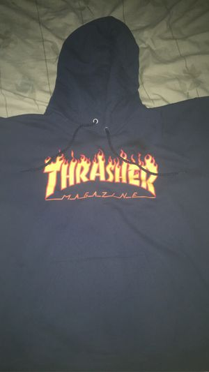 Blue thrasher hoodie for Sale in Missouri City, TX