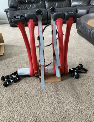 Saris 801R Bones 3-Bike Rack Red for Sale in Northville, MI