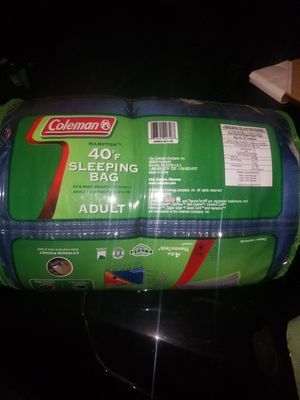 Coleman Adult Sleeping Bag for Sale in Hilliard, OH