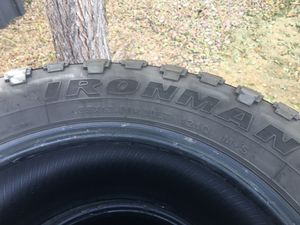 Iron man 35x12.50R 20LT for Sale in Colorado Springs, CO