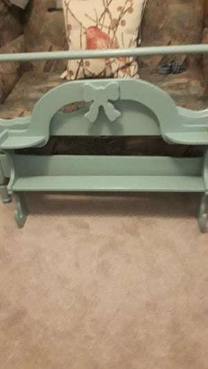 Bed frame and shelf for Sale in Silsbee, TX