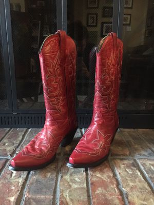 Cavenders Women's Red Boots for Sale in Dallas, TX