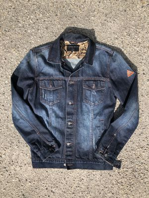 I Love Ugly Jean Jacket ( Mens Small ) Supreme Obey Hilfiger for Sale in Los Angeles, CA