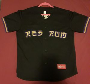 """Supreme """"Red Rum"""" Baseball Jersey for Sale in Rockville, MD"""