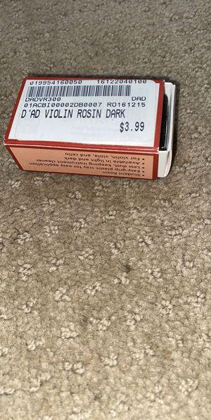Violin Rosin for Sale in Denver, CO