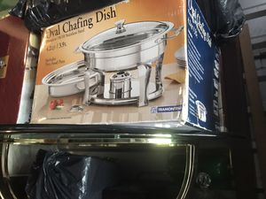 Chafing dishes and industrial size foil and wrap for Sale in Renton, WA