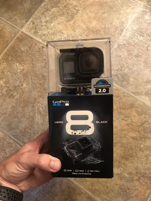 GoPro Hero 8 w/case for Sale in Spring Valley, CA