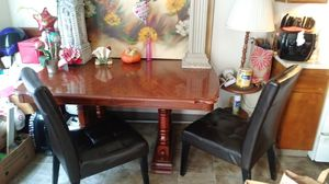 Kitchen table with 4 chairs for Sale in Hayward, CA