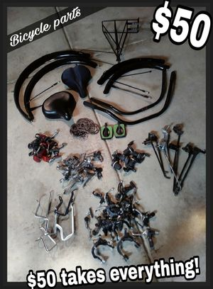 Misc bicycle parts. $50 firm for Sale in Grayslake, IL